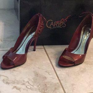 Carlos Santana Patent Leather Heels